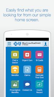 Blue Cross Blue Shield of GA - screenshot thumbnail