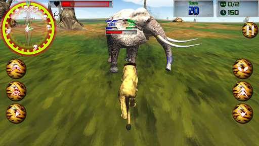 プレデターライオン:アフリカの戦士 玩模擬App免費 玩APPs