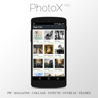 PhotoX Pro - PIP Photo Editor - screenshot