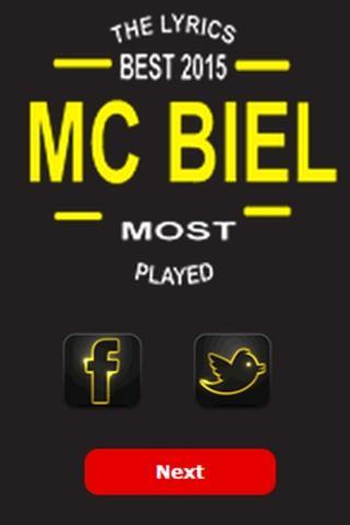 Mc Biel Top Letras