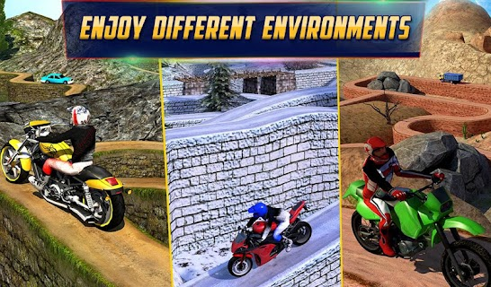 Crazy Offroad Hill Biker 3D screenshot 11