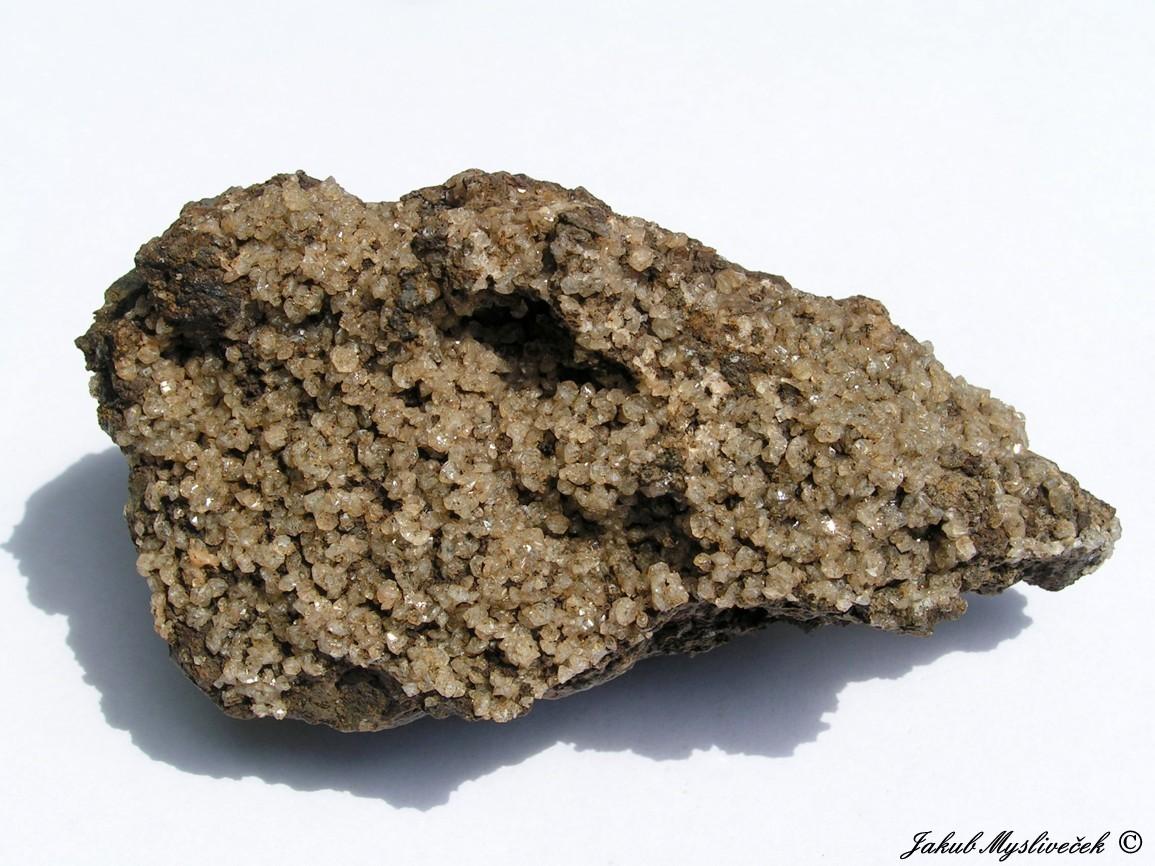Photo: Vzorek bohatý na xx fakolitu (Rytina soutěska). Velikost vzorku 102 mm. Nalezeno dne 12.6. 2016.
