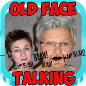 OLD FACE TALKING