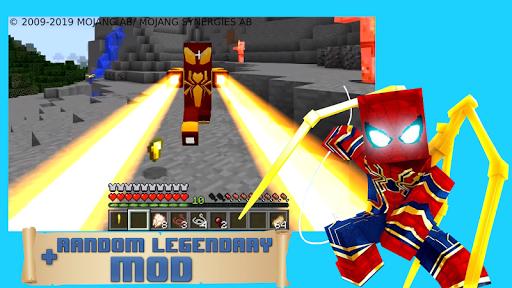 Modern spider hero mod apktreat screenshots 1