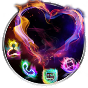 App Smoke Heart Launcher Theme Live HD Wallpapers 1.0 APK for iPhone