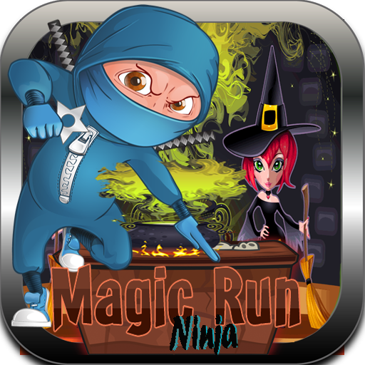 Ninja heroes-Black magic run