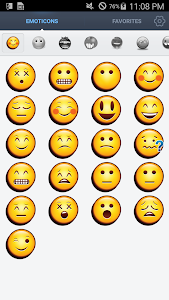 Face Emoticons Stickers screenshot 4