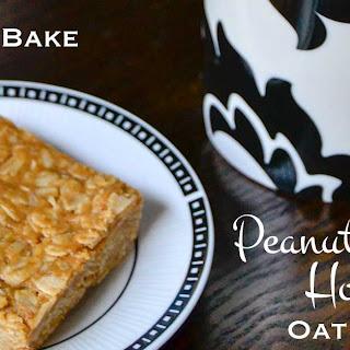 No Bake Peanut Butter Honey Oat Bars.