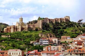 Photo: Narikalan linnoitus hallitsee Tbilisin kaupunkikuvaa
