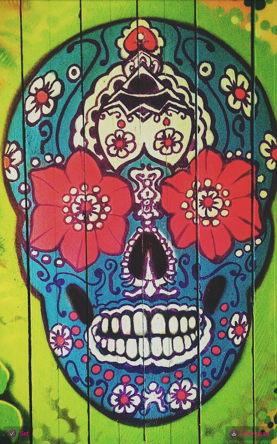 day of the dead wallpaper android apps on google play
