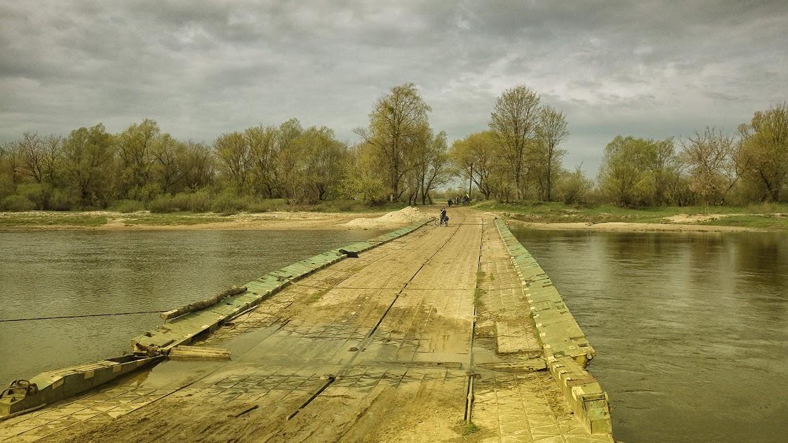 Понтонний міст с. Князівка
