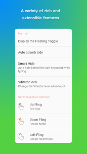 MIUI 10 – Swipe to back – Gesture Ball 4
