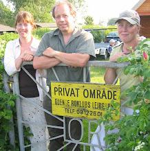 Photo: 2006 Bestyrelsen for Odense Roklubs Venner. Sekretær Hanne Gedsø, formand Morten Larsen, kasserer Mette Utzon