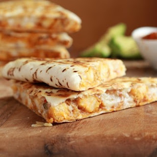 The Best Quesadillas Ever with Fire Roasted Salsa