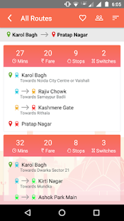Delhi Metro Timings - náhled