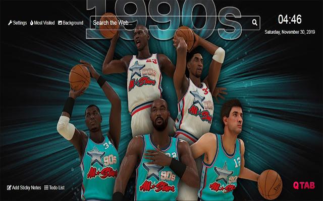 NBA 2K20  Wallpapers NBA 2K20 New Tab HD