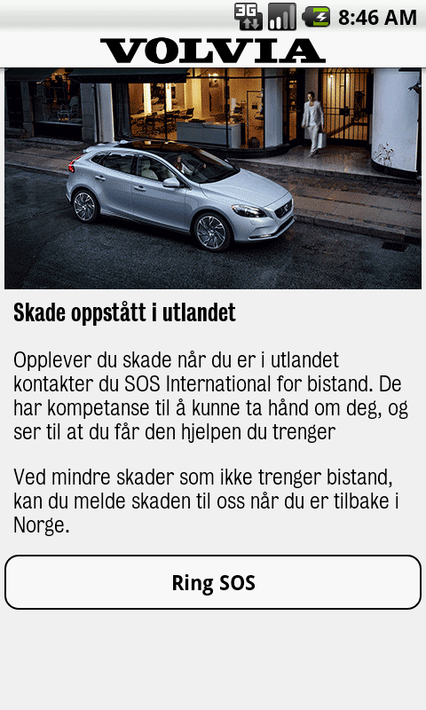 Volvia - Forsikring for Volvo- screenshot