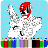 How To Color Power Rangers 2