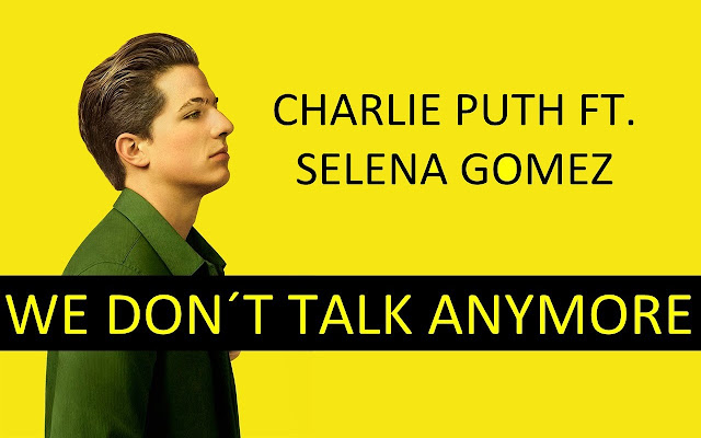 Charlie Puth - We Don't Talk Anymore Tab
