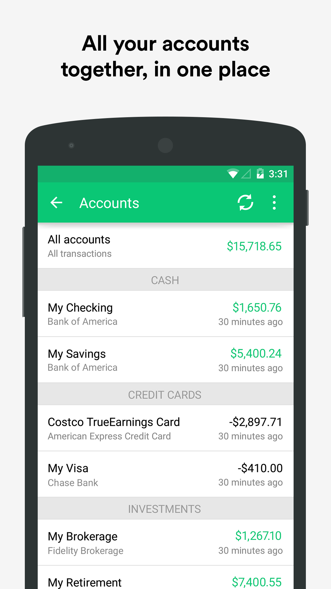 Mint: Personal Finance & Money screenshot #3