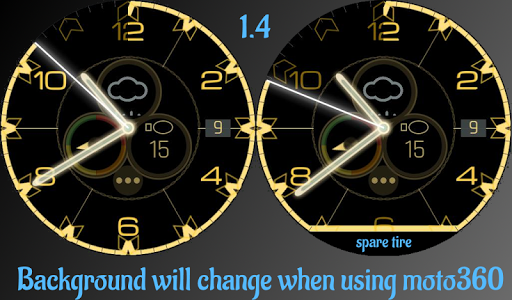 Reloaded Watchmaker Watchface