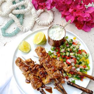 Greek Chicken Kebabs Recipe