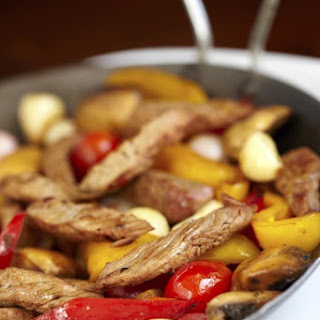 Sweet and Sour Steak Stir-Fry.