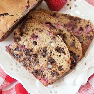 Healthy Banana Split Bread