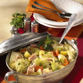 Ham and Cabbage Stew.