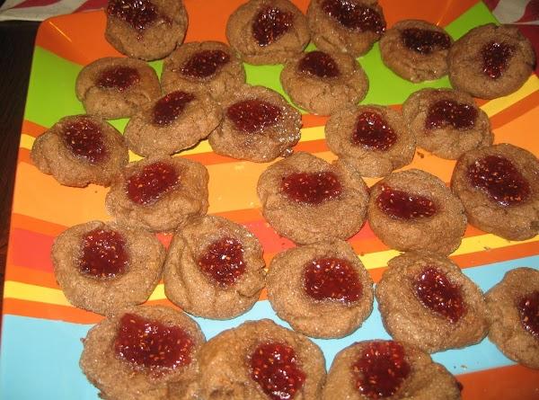 Chocolate Raspberry Thumbprint Cookies Recipe