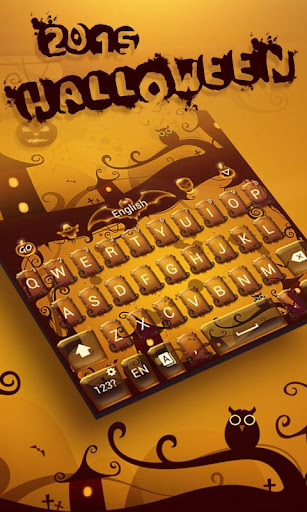 Halloween 2015 Keyboard Theme