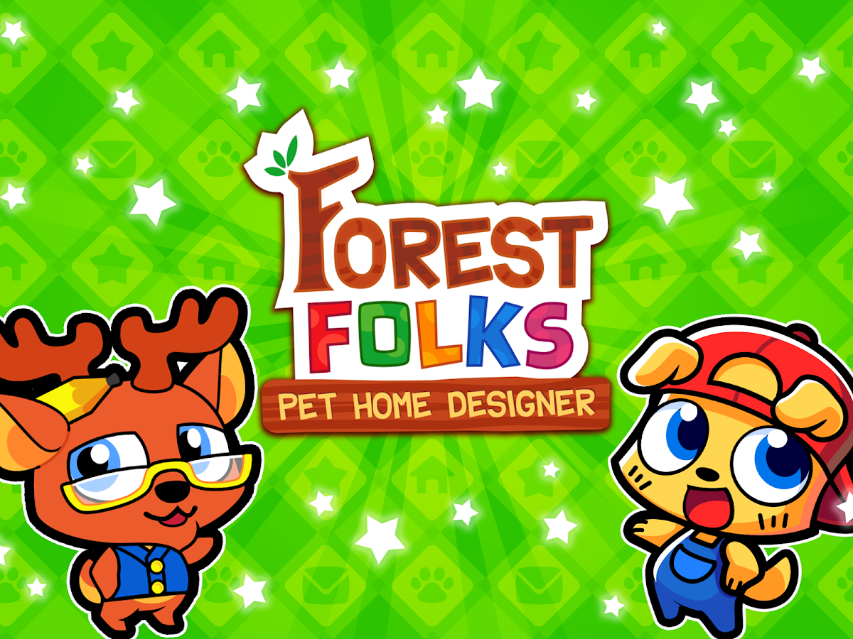 forest folks cute pet home design game screenshot - Home Design Game