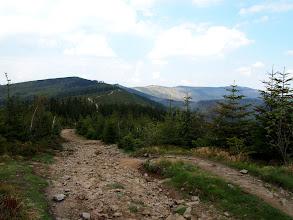 Photo: Widok na dalszą trasę.