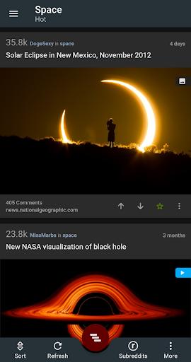 Relay for reddit 10.0.262 screenshots 1