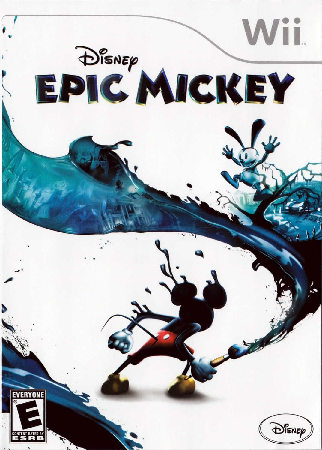 Image result for disney epic mickey wii cover