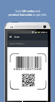 Screenshot of ScanLife Barcode & QR Reader