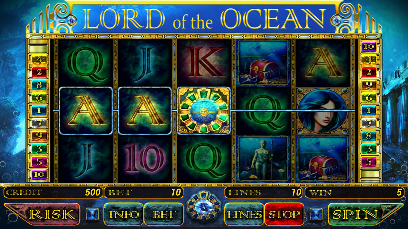 slot game lord of ocean