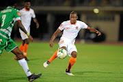 Puleng Tlolane of Polokwane City has played only three league games this season. /Gallo Images / Charle Lombard