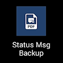 Status Message Backup icon