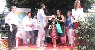 El primer premio fue a parar por segundo año consecutivo a manos de Rebeca Ruiz, con un plato de jibia en salsa y una tapa de tabernero.