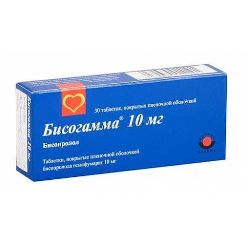 Бисогамма таблетки п.п.о. 10мг 30 шт.