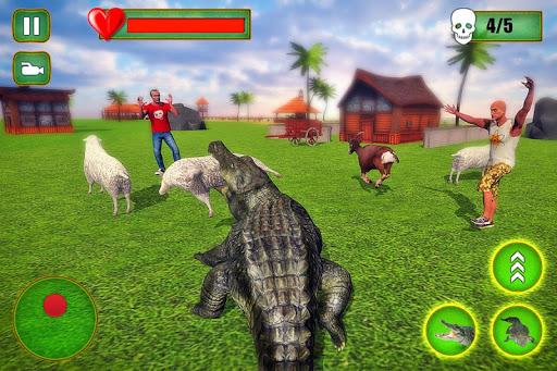 Angry Crocodile Family Simulator: Crocodile Attack filehippodl screenshot 7