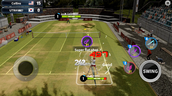 Tennis Slam: Global Duel Arena Screenshot