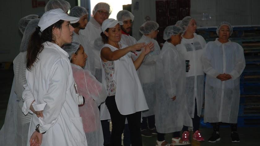Alumnos del Plan Empleo Cruz Roja.