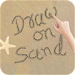 Draw On Sand Icon