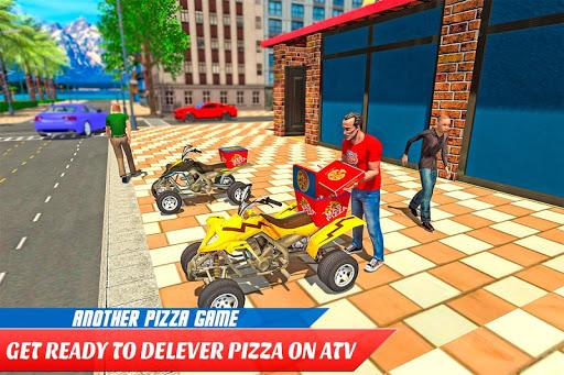 ATV Pizza Delivery Boy  screenshots 8