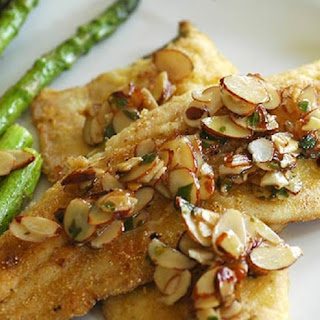 Oven Baked Trout with Almonds
