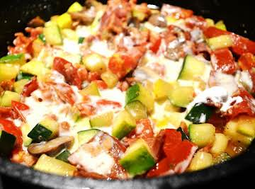 Vickie's Bacon Zucchini Special