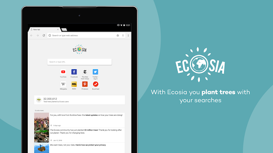 Ecosia – Trees & Privacy App Latest Version Download For Android and iPhone 6