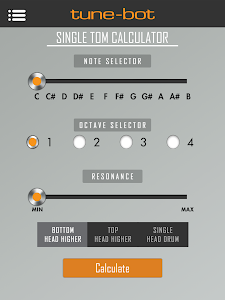 Drum Tuning Calculator screenshot 7